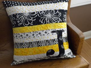 Quilted Pillow: