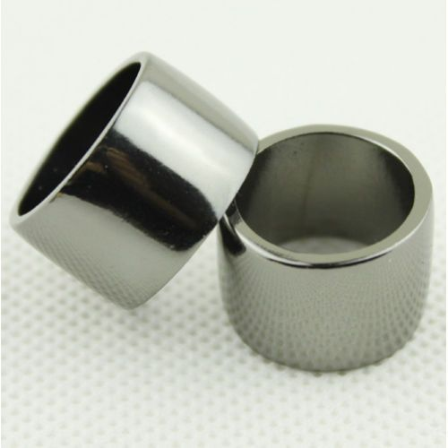 Vintage Womens Metallic Base Metal Mirrored Polished Wide Knuckle Ring 2 Color   eBay