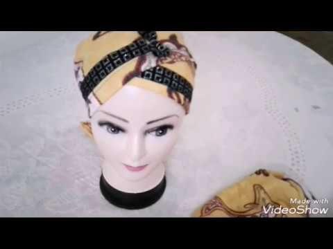 تربون فكرة جديدة من ملابس قديمة طريقة التركيب والخياطة Youtube Crochet Snowflake Pattern Snowflake Pattern Crochet Snowflakes