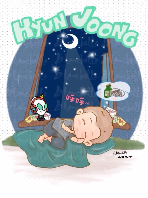 *29*  Oh sooo sweet pls take care there ... pray for you  Goodnight I love you Hyun Joong  Cr:blancbelle #Waiting4KHJ: