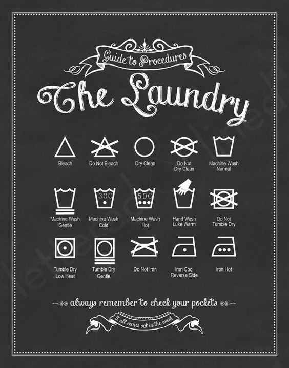 16x20 SET 'The Laundry and Stain Removal' by letteredandlined - link to actual listing