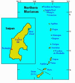 Where is Saipan?