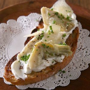 Artichoke Crostini Recipe - Saveur.com