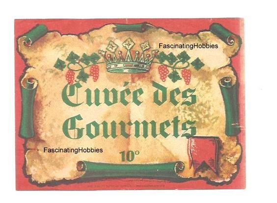 Vintage  Cuvée des GOURMETS  usually Red by FascinatingHobbies