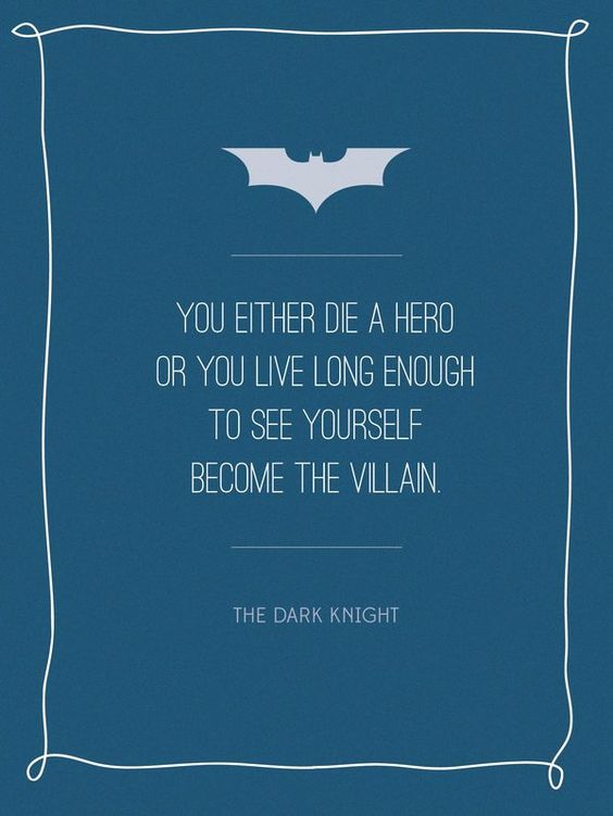 Quote Posters Theater Rooms And Dark Knight On Pinterest