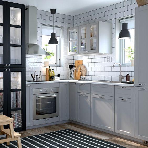 キッチン IKEA ペンダントライト例