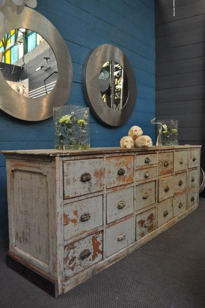 painted-chest-of-drawers-circa1900 Nord Ouest Antiquités