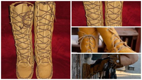 Looking for your next project? You're going to love Size 5 Women's Boot Moccasin by designer Laindia.