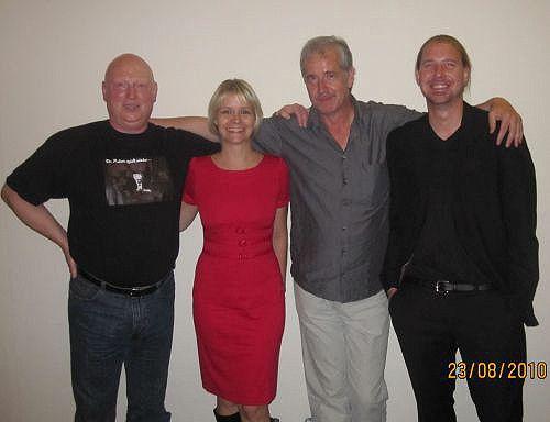 """Vor der Veranstaltung im Kölner Filmhaus, das """"Dr. Mabuse""""-Team!"""