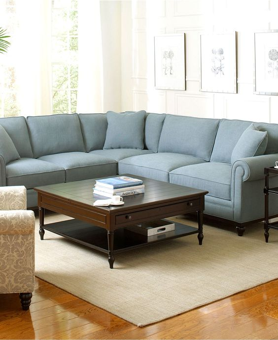 Martha Stewart Living Room Furniture Sets & Pieces, Club Sectional ...