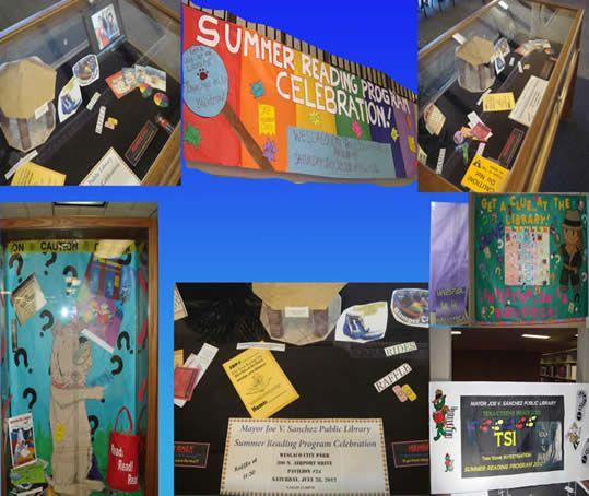 Mayl 2009 Displays - Weslaco Public Library