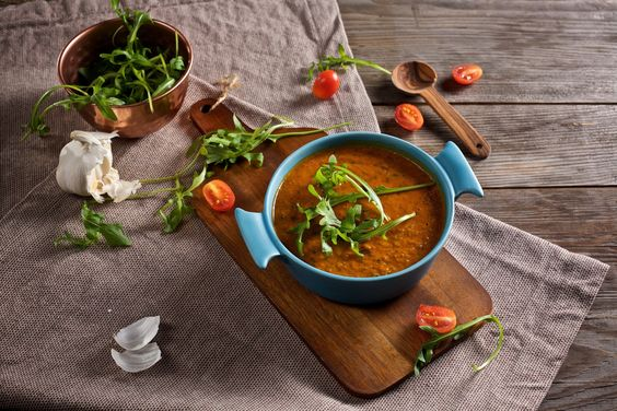 Rucola-Tomaten-Suppe, Food-Blog, vegan, glutenfrei, Rezept, Stuttgart