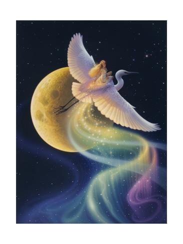 Giclee Print: Flight Of The Aurora by Kirk Reinert : 24x18in