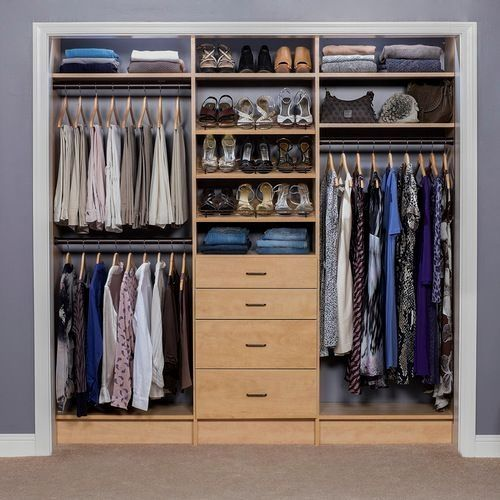 45 Comfortable And Suitable Wardrobe Design For Big Small Bedroom There Are Several Important Tools And Stuff That In 2020 Closet Design Layout Bedroom Closet Design
