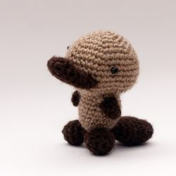 Crocheted Amigurumi Platypus with Free Pattern