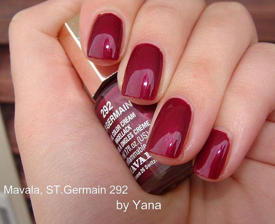 Gorgeous! Mavala, Saint German   #EssentialBeautySwatches   BeautyBay.com