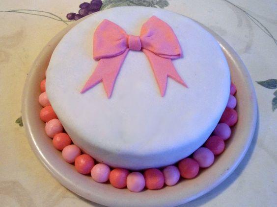 fondant cakes | First Fondant Cake by PnJLover on deviantART
