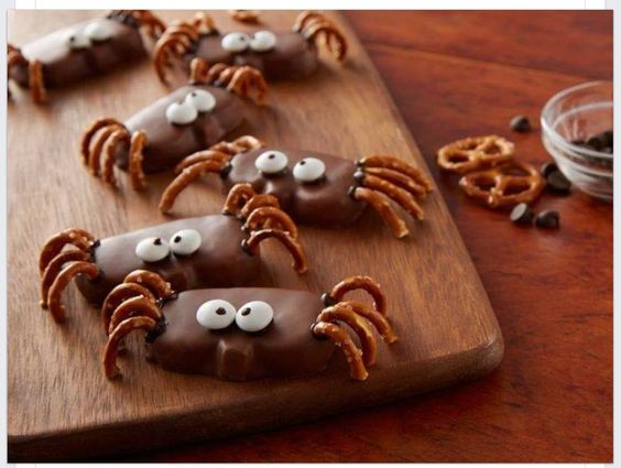 Marshmellow spiders