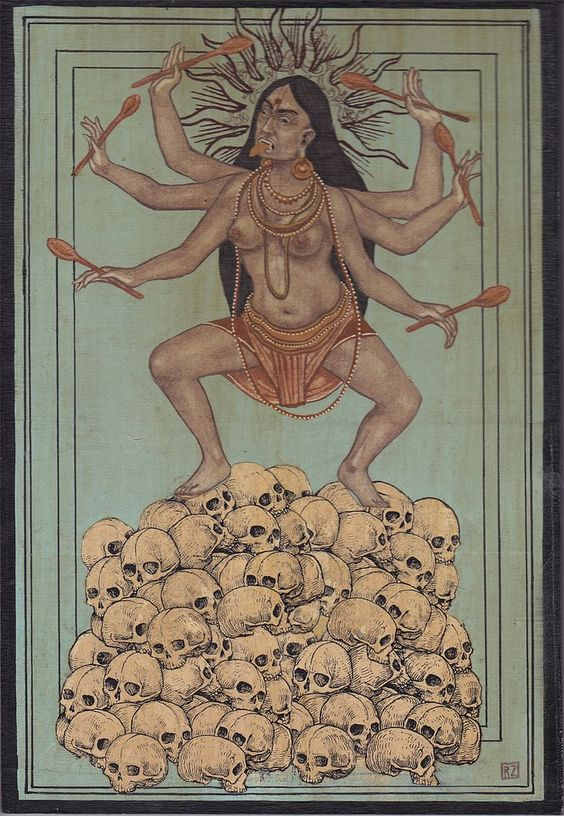Ravi Zupa and his Kali