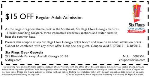 Six flags coupon code