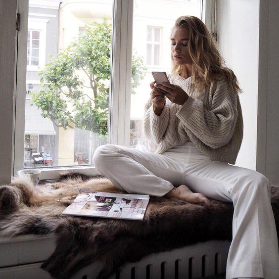 """foxeia: """" Isabella Thordsen """" http://afashionlines.tumblr.com/"""