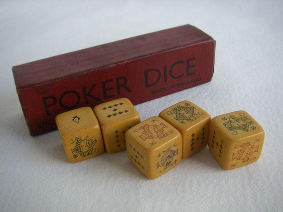 Antique casino dice