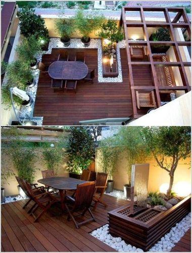 Ƹ̴Ӂ̴Ʒ Des terrasses en bois pour l\'été ! Ƹ̴Ӂ̴Ʒ | Patios, Gardens ...