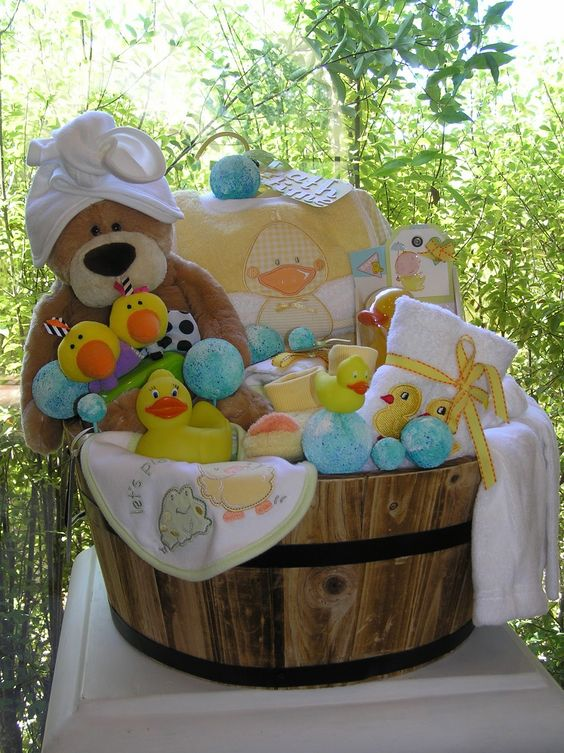 Baby Gift Baskets | White Horse Relics: Unique Themed Baby Gift Baskets!