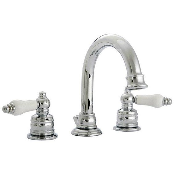 Banner 670 Series Widespread Sink Faucet Set With CERAMIC