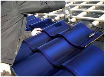 Solar Panel Roof Tiles - Marquette Turner Luxury Homes