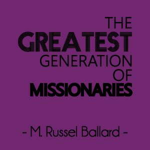 """""""We call upon you, our young brethren of the Aaronic Priesthood, to rise up, to measure up, and to be fully prepared to serve the Lord."""" -M. Russel Ballard 