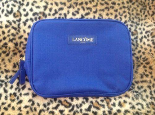 Lancome Makeup Cosmetic Travel Pouch Bag Royal Blue Woven Gold Zipper Case NEW https://t.co/h0PURvCqgc https://t.co/4GCM6eDk6M