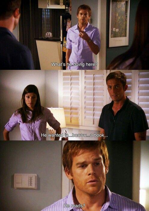 Dexter Dexter Morgan Dexter Memes Dexter Tv Series