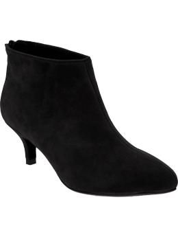 LOVE LOVE LOVE this kitten-heel ankle boots from Old Navy