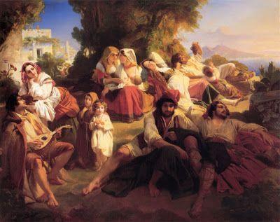 TICMUSart: Il dolce Farniente - Franz Xaver Winterhalter (183... (I.M.)