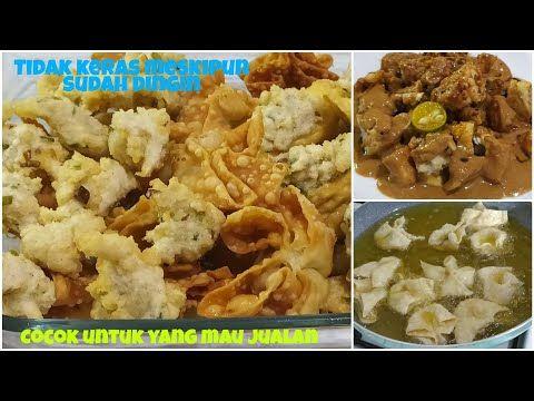 Resep Batagor Aci Garing Crispy Dan Lembut Di Bagian Dalam Saus Bumbu Kacangnya Sedap Mantap Youtube Resep Resep Makanan Makanan