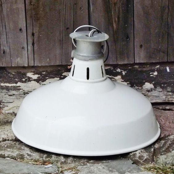 Ceramic Pendant Light Rustic Light Fixture Retro Lighting: White Porcelain, Ceiling Lights And Ceiling Light Fixtures