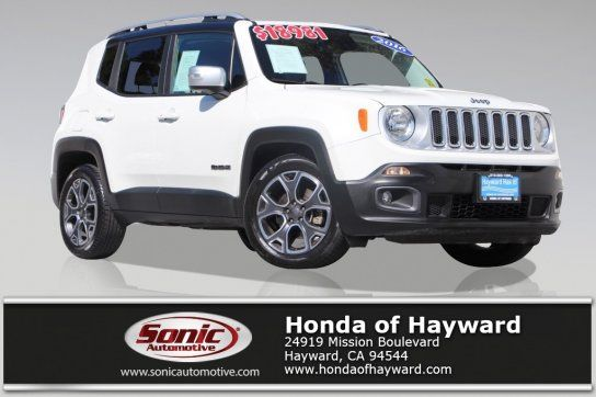 Sport Utility 2016 Jeep Renegade Fwd Limited With 4 Door In Hayward Ca 94544 Jeep Renegade