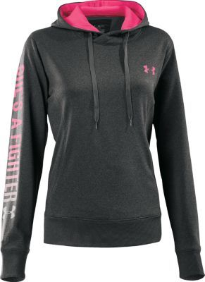 """Under Armour® Women's """"She's a Fighter™"""" Hoodie.....so going to get this"""