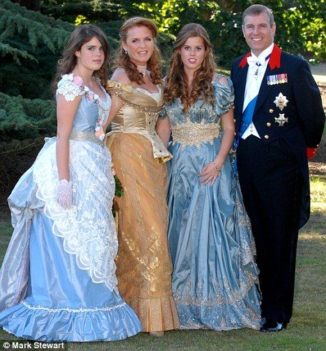 Princess Eugenie, Duchess of York, Princess Beatrice ... Fergie At Eugenia S Wedding