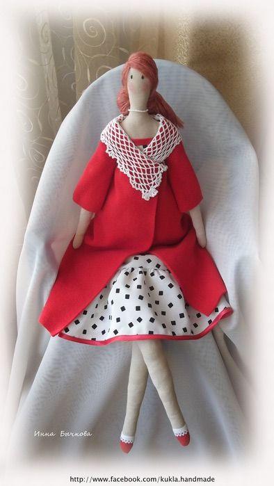 текстильные куклы | Записи с меткой текстильные куклы | Поиграем? : LiveInternet - Российский Сервис Онлайн-Дневников