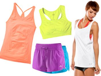 Get an energy boost with bright fitness wear! We love these functional & affordable options.