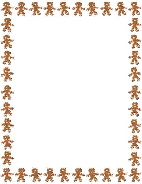 free christmas cookie borders clip art - photo #19
