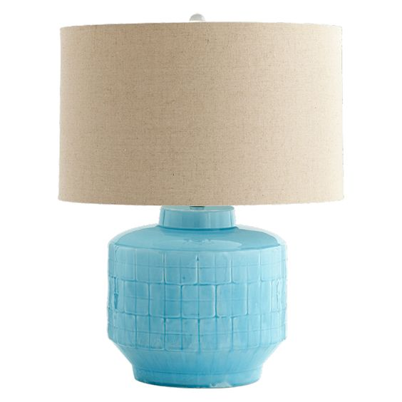 Cyan Design // Aqua Glow Table Lamp