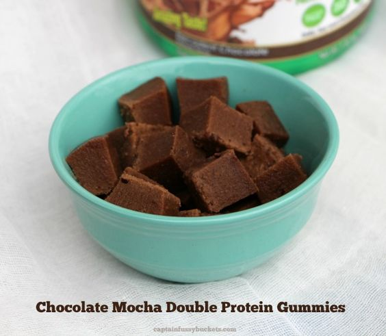 Make a batch of Chocolate Mocha Double Protein Gummies to have on hand! Ensure that you are getting enough protein and stay on track!  ad  @Walmart #ProteinAtWalmart