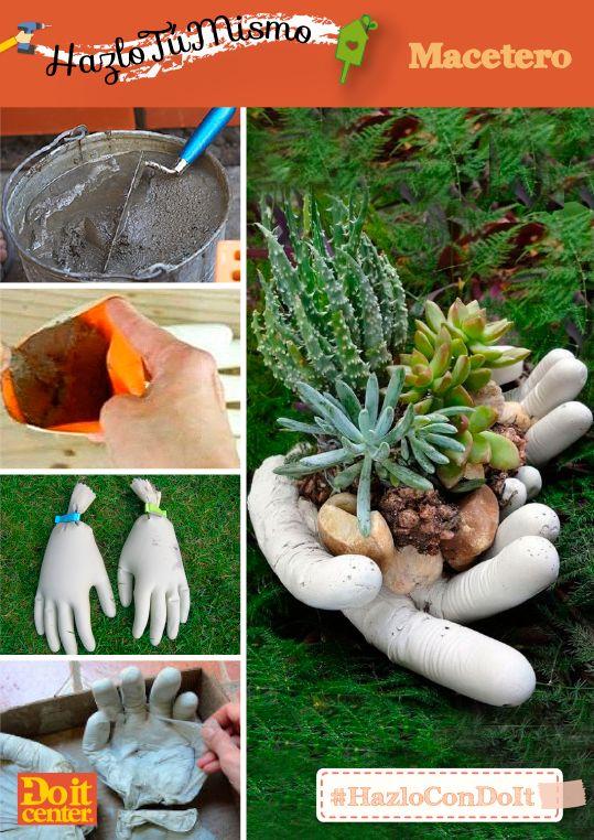 Haz tus propios maceteros para el jardín! #jardineria #maceteros - maceteros para jardin