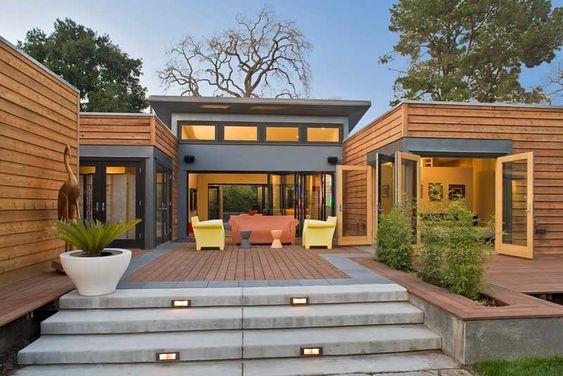 a PREFAB modern house! love it!