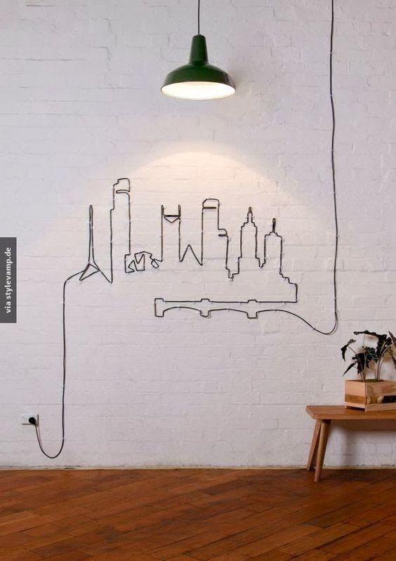 Kabel toll verstauen