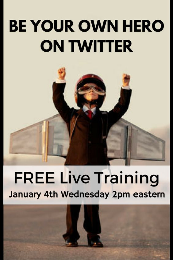 Be your own hero on Twitter!! Are you making the most of Twitter, without losing your time? Well, you can share less and get more attention on Twitter. Not only that, you can also spend less time on twitter and get more results! Learn all this in a free webinar https://johnpaulaguiart.samcart.com/referral/VA4lOjz4/168882