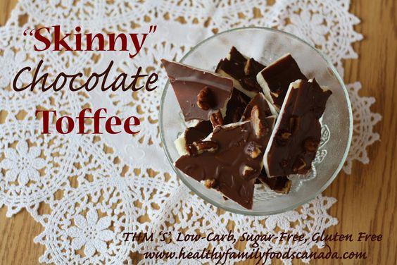 Skinny Chocolate Toffee